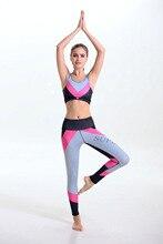 women's sports suits 2pcs set sport bra top gym yoga pants leggins women suits sport leggings fitness clothes gym-clothing