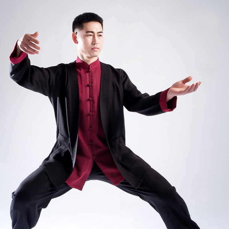 Tai Chi Clothes Male Martial Art Performance Clothes New Product Taiji Boxing Clothing Three Pieces