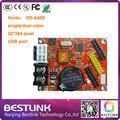 Led контроллер карты поставить HD-A40S Huidu ПРИВЕЛО платы управления HD-U60 USB порт 32*512 пикселей p10 светодиодная вывеска программируемый знак diy комплекты