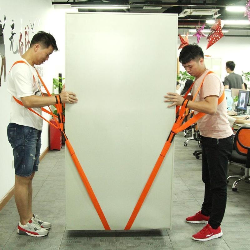 Muebles correa de movimiento antebrazo carretilla elevadora correa de transporte correas de muñeca más fácil de llevar cuerda casa conveniente casa herramienta de movimiento