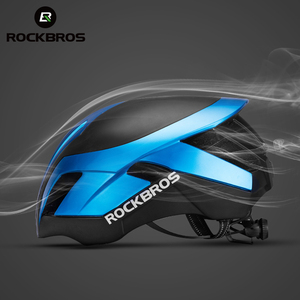 Image 3 - ROCKBROS Mountain Bike Helmet 3 in 1 MTB Road Cycle Helmets Mens Safety Helmet Integrally Molded Pneumatic Cycling Helmets