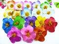 36 pcs frete grátis cores misturadas Espuma Havaiano flor de Hibisco Flor grampo de cabelo de noiva 9 cm