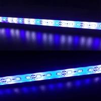 5 stks DC12V 0.5 m 5730 IP68 Waterdichte Grow Light Led bar stijve strip Rood Blauw 5:1 voor Aquarium groen huis Hydrocultuur plant