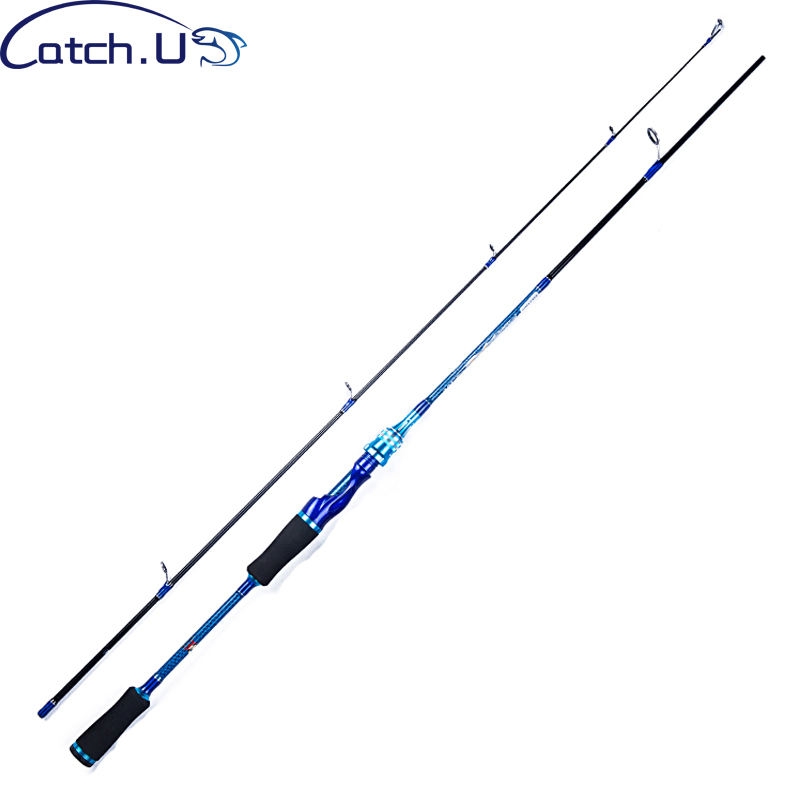 Catch.U 1.8M Fishing Rod 15-30g 10-25lb 1.1mm Blue Spinning Lure Rods Carbon Casting Rod Spinning Rods