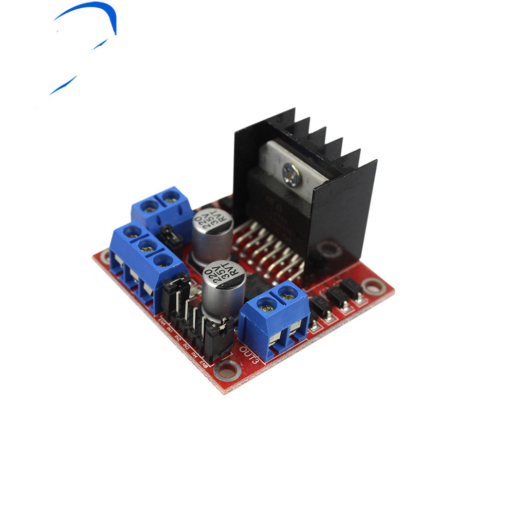 1 Pcs L298n Motor Fahrer Bord Modul Stepper Motor Dc Roboter Vier Rad Diy
