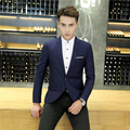 New Fashion Slim fit Blazer jacket for Mens coat suit jacket Male clothing hot sale poly viscose casual blaser masculino no pill