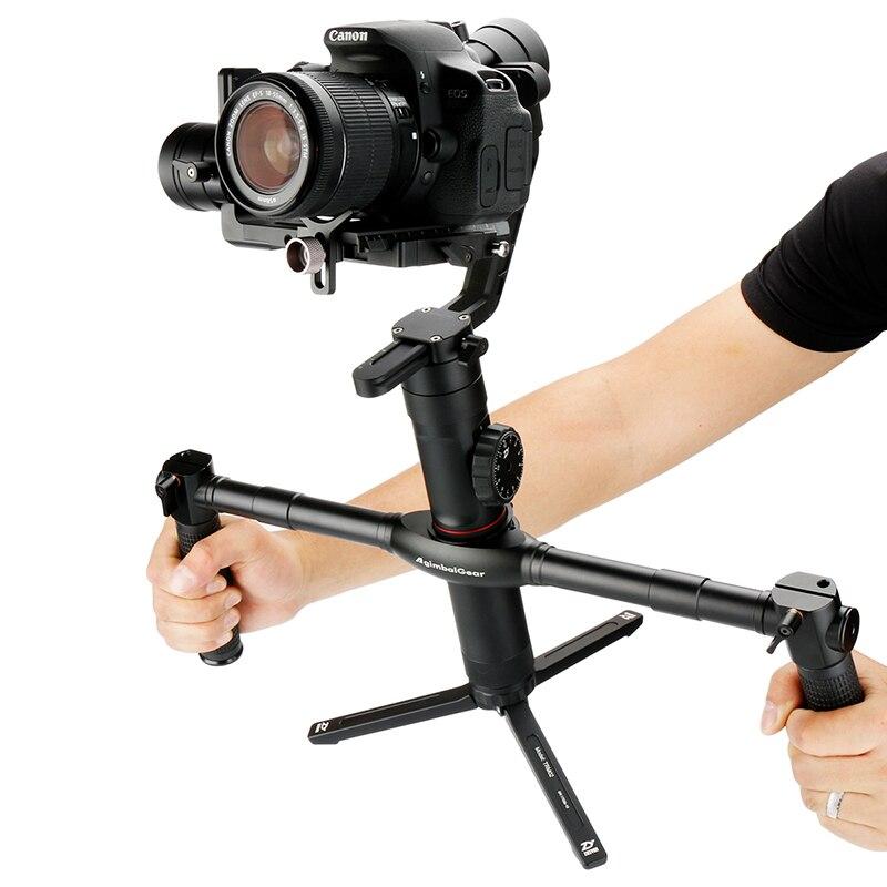 AgimbalGear Dual Hand Grip Handheld Gimbal Stabilizer Handgrips for Zhiyun Crane 2 V2 M Plus Extended Handgrips Video Grips