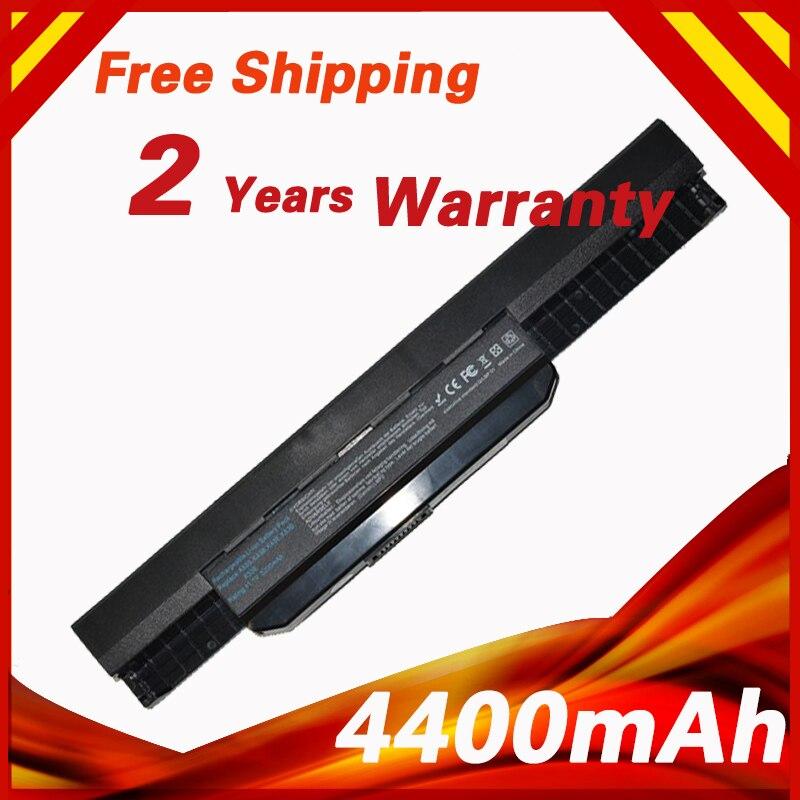 Batería del ordenador portátil para ASUS A43 A45 A53E A53SD A53S A53SK A53SM A53SV A53TA A53Z A54 A83 A84 K43 K53 K53E k53J K53SD X53S K53SJ X53U