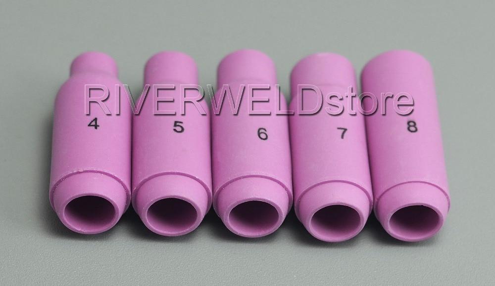 TIG Buse de Alumine C/éramique Shield Cup 10N50 4# Fit DB PTA SR WP 17 18 26 Torche de Soudage Tig 10pk