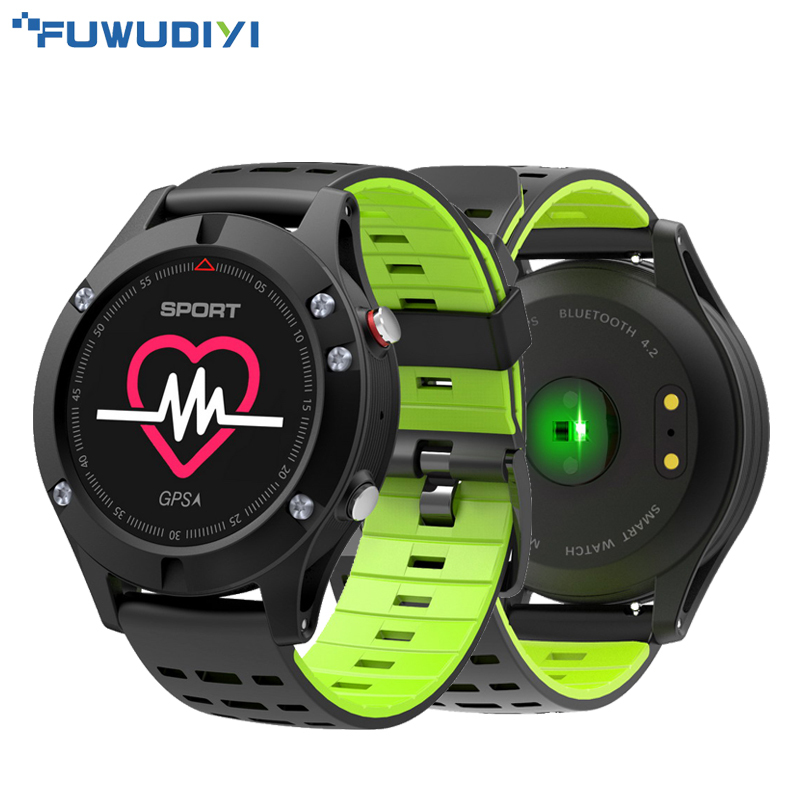 fuwudiyi f5 smart watch gps altimeter barometer thermometer bluetooth 4 2 waterproof multi sport mode smartwatch for ios android