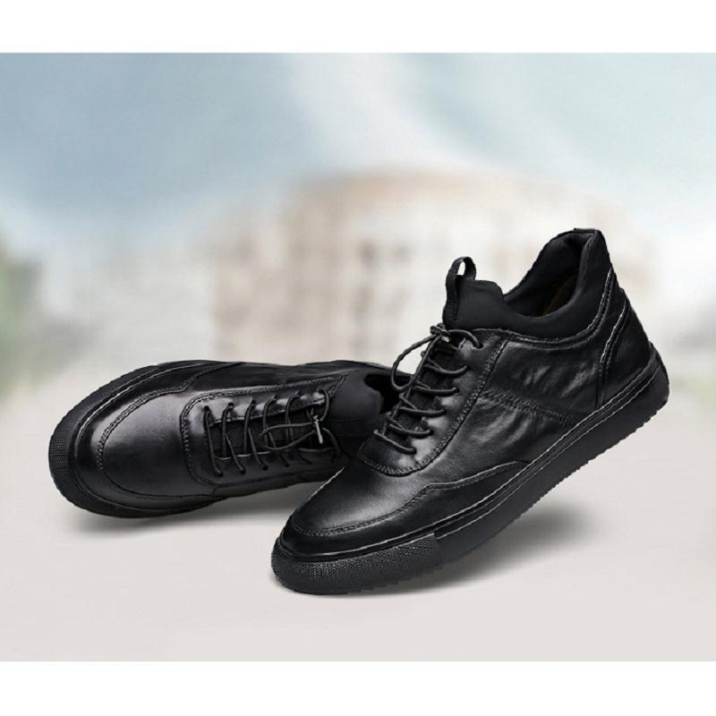 herbst Atmungsaktiv Non Turnschuhe slip Männlichen Komfortable Mode Frühling Mycolen Neue Erwachsene Männer Schuhe Schwarzes Casual nqWxHUaw