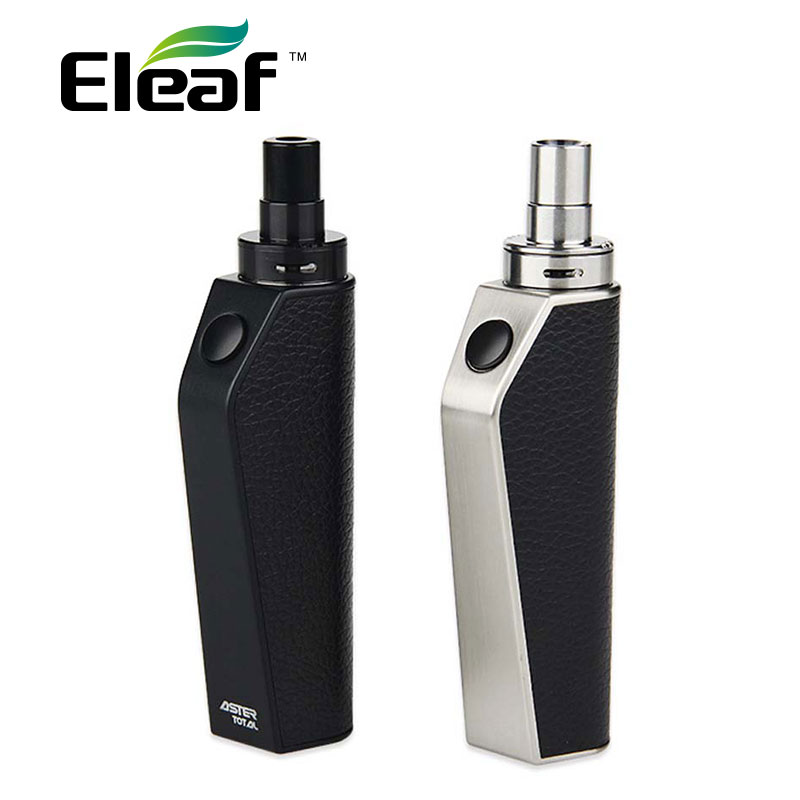 Electronic Cigarette Eleaf Aster Total Kit 1600mAh Aster Total Mod 25W Bypass Mod 2ml Capacity E Cigarette All In One Kit