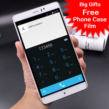 "6 Pulgadas MTK6580 Desbloqueado 3G Quad Core Smartphone Android 4.4 RAM 512 MB ROM 4 GB Teléfono Móvil WCDMA GPS QHD IPS 4800 mAh 6 ""JH M8"