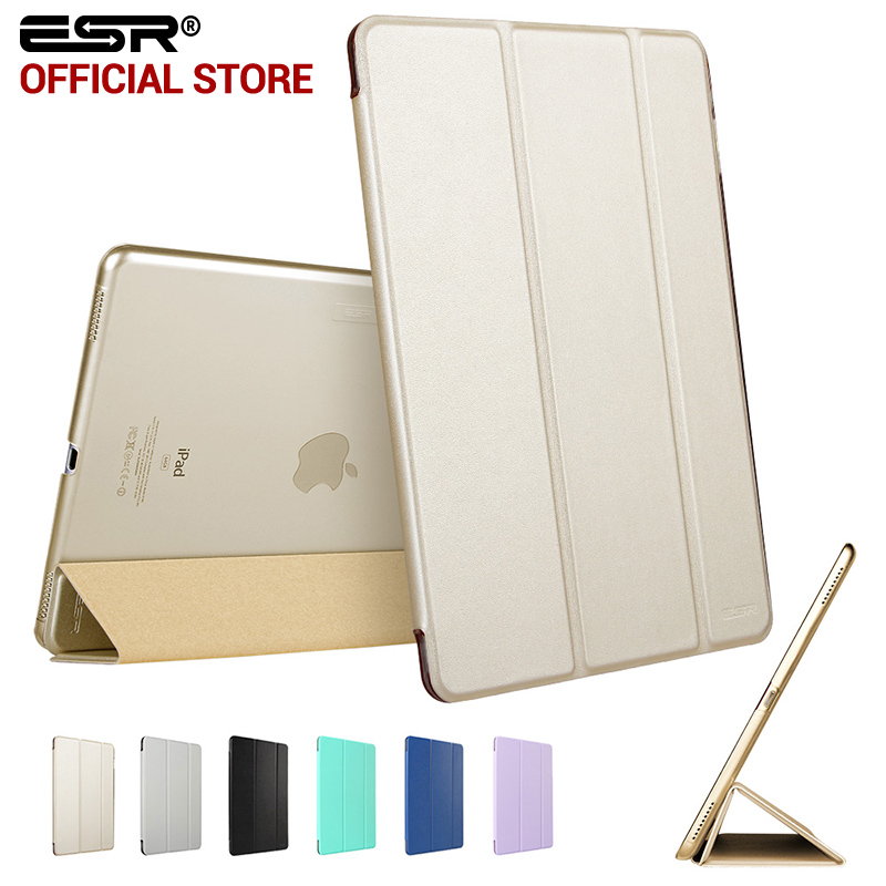 Case for iPad Pro 12.9 inch, ESR PU Leather Tri-fold Stand Smart Cover Case with Translucent Back for iPad Pro 12.9 2015 Release case for ipad pro 12 9 inch esr pu leather tri fold stand smart cover case with translucent back for ipad pro 12 9 2015 release