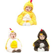 IMSHIE Baby new born roupa de bebe rompers winter chicken