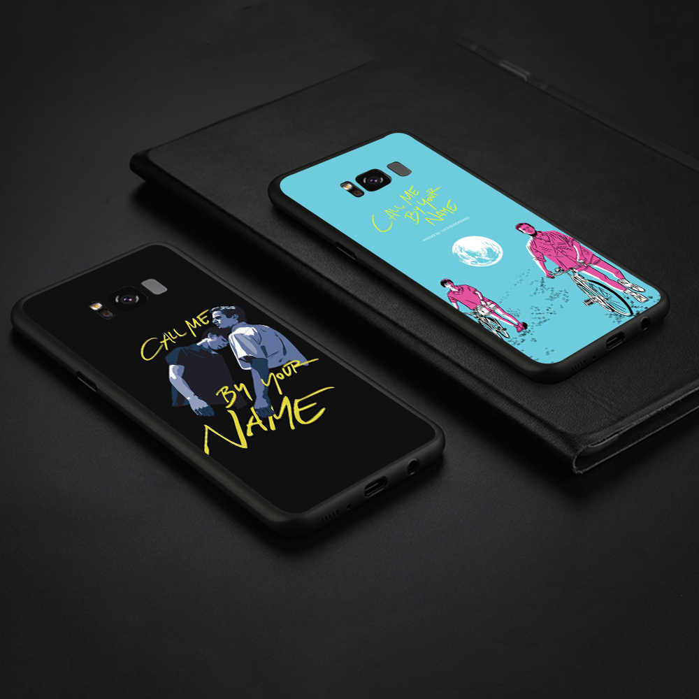 Lavaza Call Me โดยของคุณชื่อโทรศัพท์นุ่มสำหรับ Samsung Galaxy S8 S9 S10 Plus A6 A8 A9 2018 a30 A50 TPU กรณี