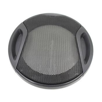 Free Shipping Car Speaker Grille 4.6inch Mesh Grills Cover Gold Woofer Car Sound Audio Subwoofer Speaker Cover 134MM Black frame circle