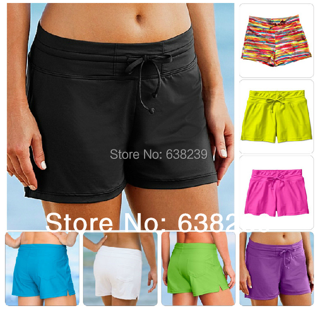 Women Beach Pants Boardshorts Swim Shorts Swimming Snorkeling Surfing Paddle Lycra Quick-Dry Rash Guard - Guangzhou Outdoor New Empire Trading Co., LTD store