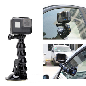 Image 5 - Вращающаяся на 360 градусов присоска LANBEIKA для Gopro Hero 9 8 7 6 5 Session DJI Yi 4K SJCAM держатель на присоске для автомобильного стекла