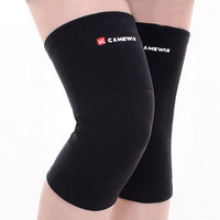 1 Pair CAMEWIN Brand Knee Support Knee Protector Prevent Arthritis Injury High Elastic Kneepad Sports Knee