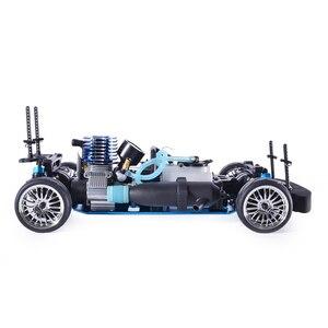 Image 4 - Samochód zdalnie sterowany HSP 4wd 1:10 na wyścigi drogowe dwie prędkości Drift pojazdu zabawki 4x4 Nitro Gas Power High Speed Hobby zdalnie sterowanym samochodowym