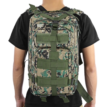 3P Tactical Backpack Military Backpack Oxford Sport Bag 30L for Camping Climbing Bags Traveling Hiking fishing Bags 1