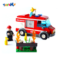 Light-duty Fire Truck Building Blocks Toys,Educational Toys For stir childen up for Imagination and Operational Ability