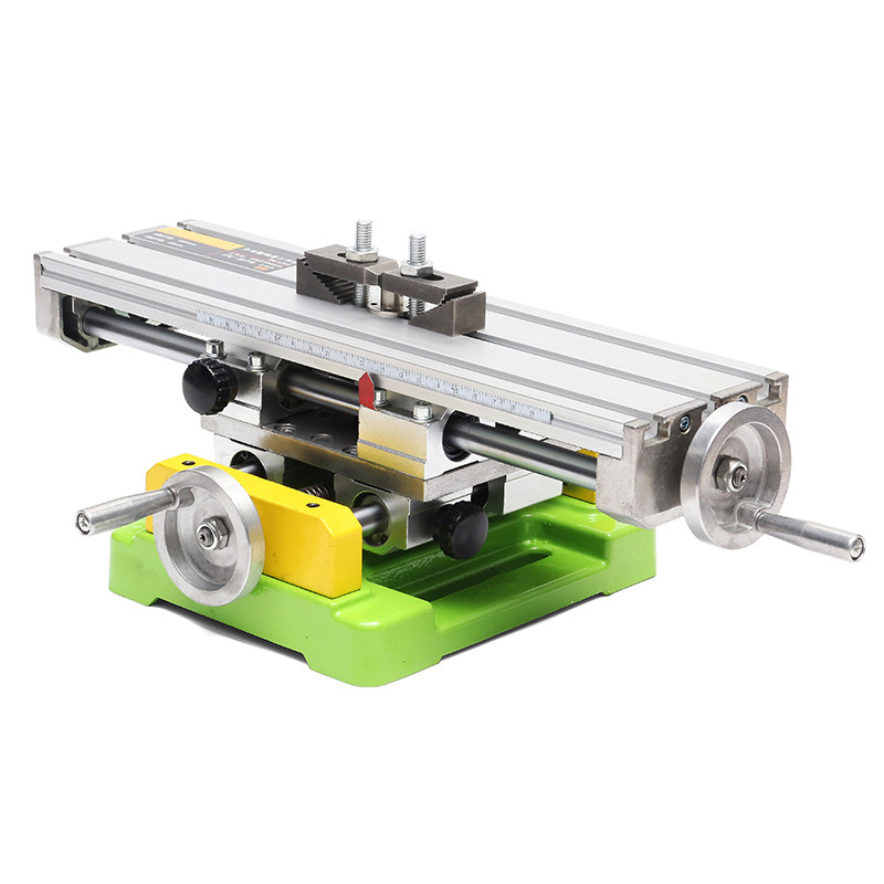 BG6350 Mini Precision Multifunction Drill Vise Fixture Working Table Milling Machine X And Y-axis Adjustment Coordinate Table machine tool