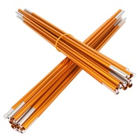Camping Outdoor 2pcs Tent Pole Aluminum Alloy Tent Rod Spare Replacement 8 5mm Tent Support Poles