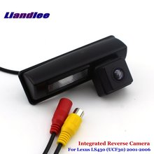 цена на Liandlee Car Backup Parking Camera For Lexus LS430 (UCF30) 2001-2006 Rear View Rearview Reverse Camera / Integrated SONY CCD HD