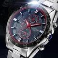 Longbo relógio de pulso 2017 relógio de quartzo dos homens relógios top marca de luxo famoso relógio de pulso masculino moda hodinkyclock relogio masculino