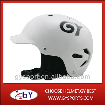 CE approved ABS out  shell white water helmet with Removable Ear Pads