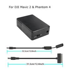 סדרת סוללה אחסון פורק מתחזק רכזת מגן שומר עבור DJI Mavic 2 פרו זום & פנטום 4 Drone 17.6v 1.5A אבזרים