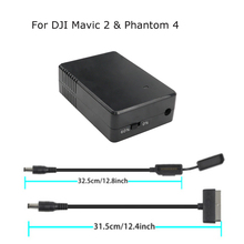 Series Battery Storage Discharger Maintainer Hub Protector Saver For DJI Mavic 2 Pro Zoom&Phantom 4 Drone 17.6v 1.5A Accessories