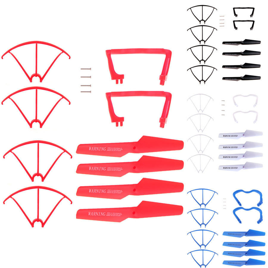X5 X5c x5c-1 Remote Control RC Quadcopter Propellers Landing Skid Protectors Spare Parts High Quality Toys & Hobbies quadcopter spare parts crash pack remote control parts