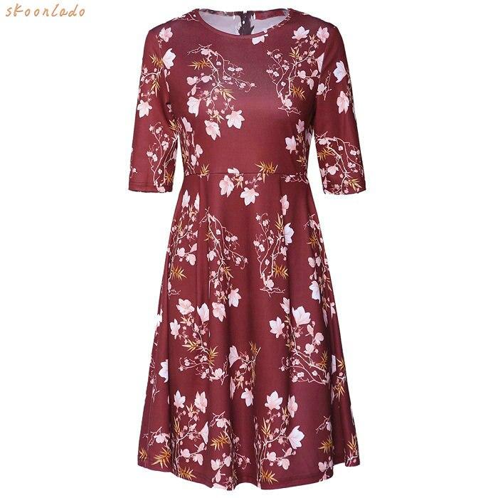sweety flower style short women dress good looking slim clothes beauty women dress office working style lovely style sweety ones in Dresses from Women 39 s Clothing