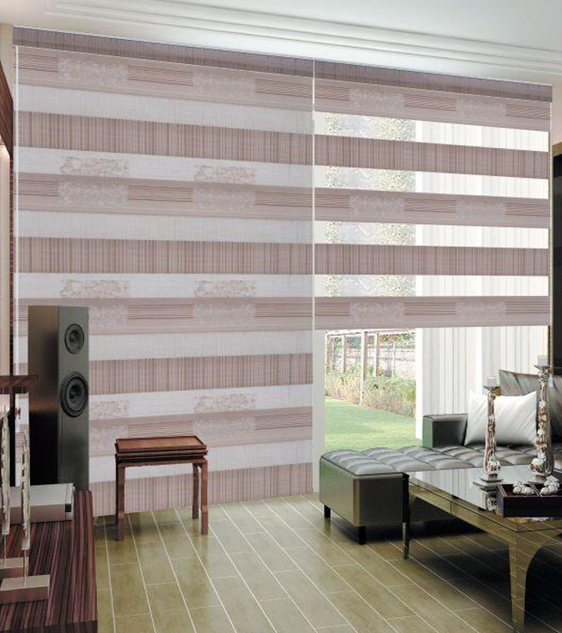 Korean high end living room curtains blinds office double Curtains and blinds