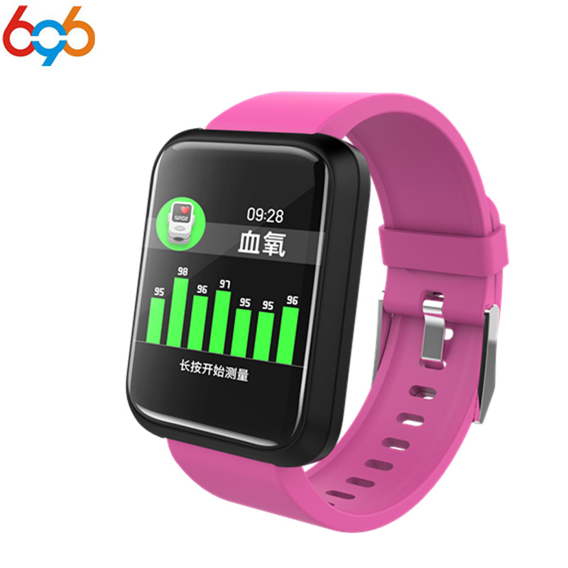 696 New Fashion Waterproof Sport3 Smart Band Blood Pressure Smart Bracelet Fitness Tracker Clock Smartwatch For IOS Android умные часы smart watch y1