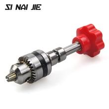 SI NAI JIE 0.6-6.5 mm Mini Hand Twisting Drill Dremel Woodworking tools Manual Twisting Drilling Hand Twist Drill Bit SJD01