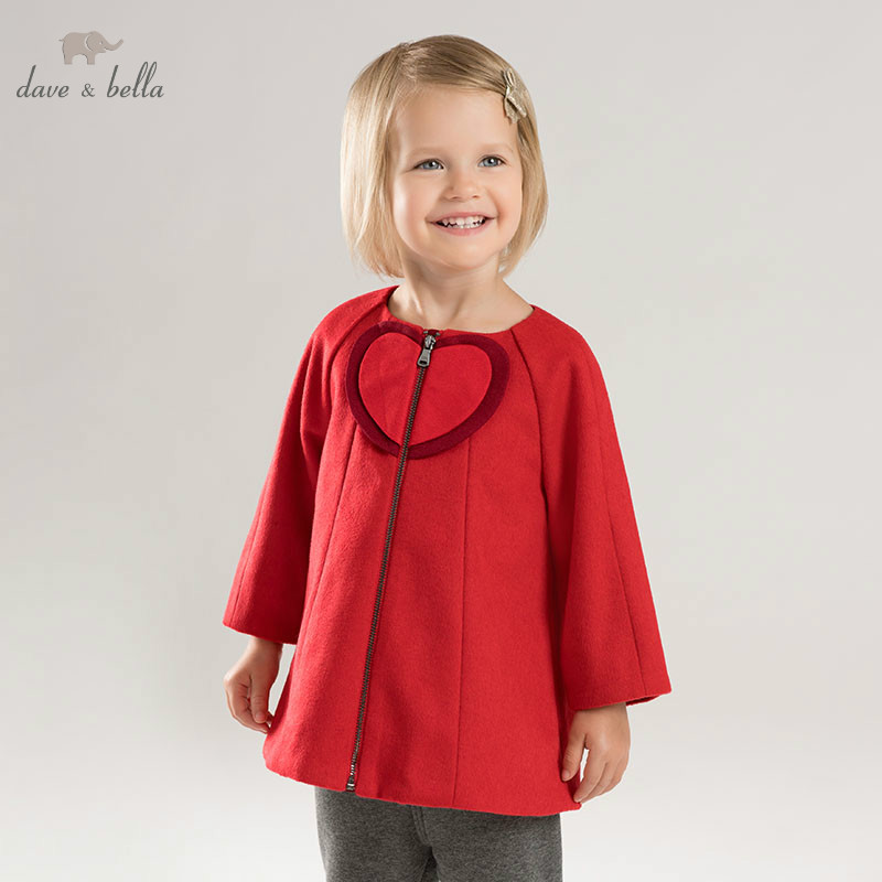 DB8422 dave bella baby girls wool jacket chidlren fashion red coat infant toddler boutique outerwearDB8422 dave bella baby girls wool jacket chidlren fashion red coat infant toddler boutique outerwear
