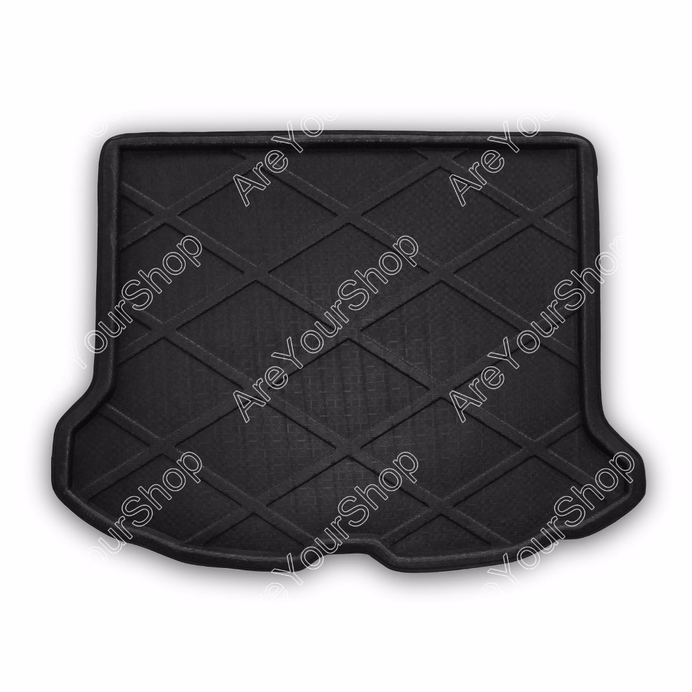 Car Auto Cargo Mat Boot liner Tray Rear Trunk Sticker Dog Pet Covers For Volvo XC60 2010-2015 1PCS NEW Fashion Car-Styling Cover car rear trunk security shield cargo cover for jeep compass 2007 2008 2009 2010 2011 high qualit auto accessories
