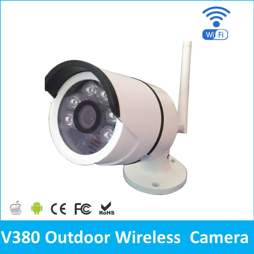 Outdoor IP camera WIFI Megapixel 720p HD Security CCTV IP Cam IR Infrared SD Card Slot P2P V380 Bullet Kamera outdoor ip camera wifi megapixel 720p hd security cctv ip cam ir infrared sd card slot p2p v380 bullet kamera