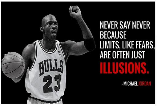 PICTURE PRINT 2 INSPIRATIONAL MICHAEL JORDAN BASKETBALL QUOTE POSTER