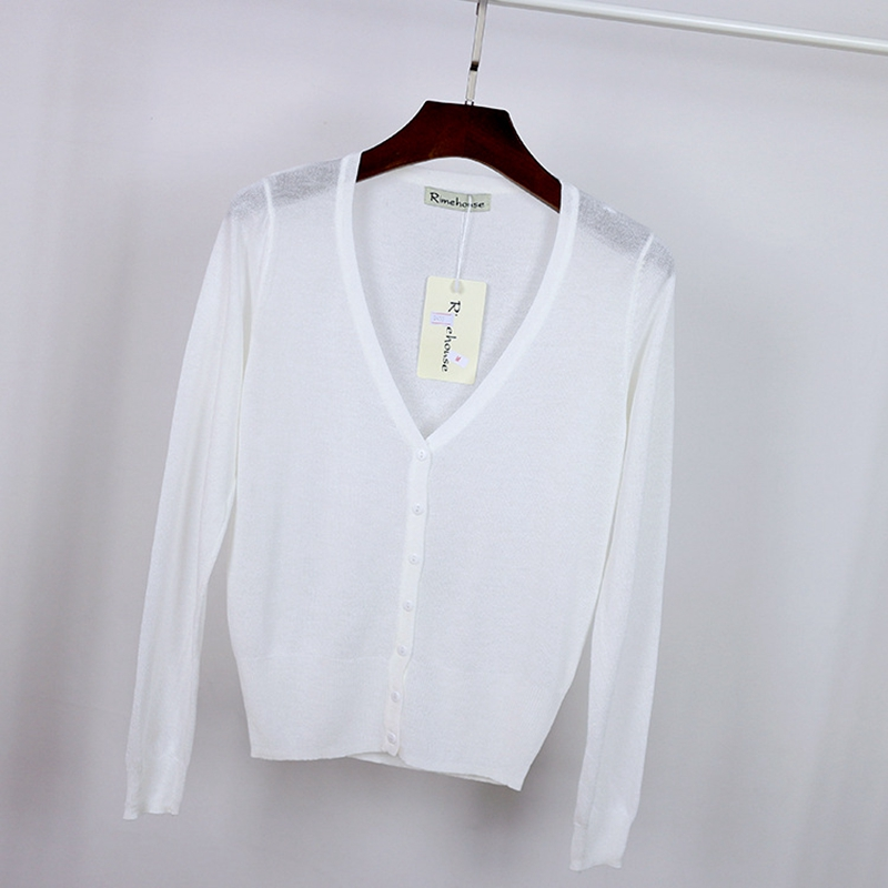 HOT! 2016 Knitted Cardigan Short Sleeve women Sweater plus size  M L XL