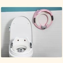 Детский многофункциональный горшок для путешествий, тренировочный горшок, переносное туалетное кольцо, детский писсуар, удобный помощник для туалета
