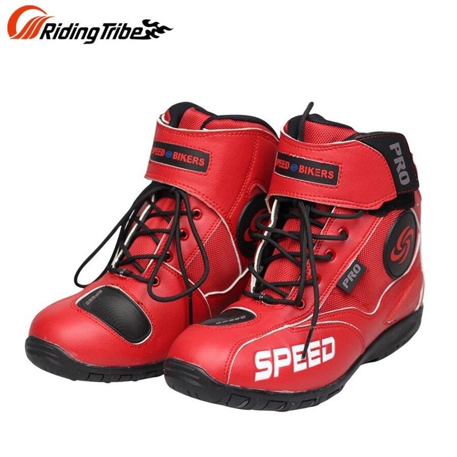 Darmowa wysyłka 1 para Pro-biker akcesoria do motoru buty motocykl sportowy buty wyścigowe Offroad Sport Motorbiker buty