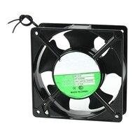 120x120x38mm 5 lâminas de metal quadro axial fluxo ventilador de refrigeração ac 220/240 v 0.14a 22 w|Vent.| |  -
