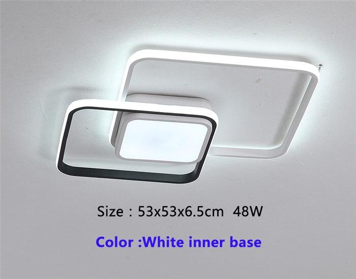 53x53cm White base