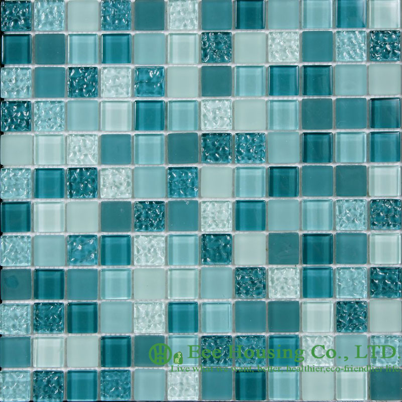 Acid-proof And Alkali-Proof Crystal  Mosaic Tile Factory, For Indoor And Outdoor Walls