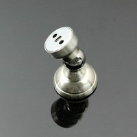 Two Use Round Head Luxury Stainless Steel Door Stopper Classical Door Stops Strong Magnetism Wall Doot